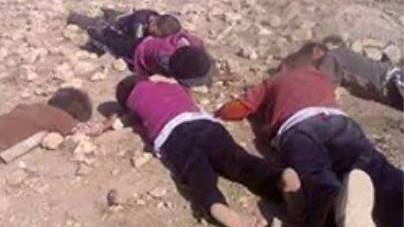 Ezidi children who died on Mount Shingal from dehydration, August 2014
