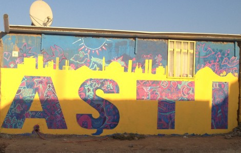 Aşti Mural by aptART (Awareness and Prevention Through Art) in Domiz-I Camp in Duhok