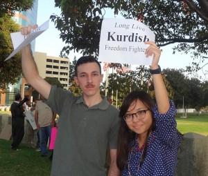 LA Solidarity; Pic - Soraya Fallah