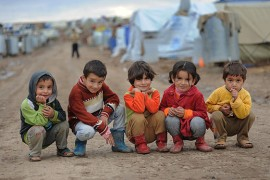 Syrian refugee children, Pic - KRG.org