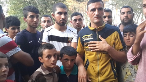 Ezidi father and sons in Diyarbakir camp will live any safe place