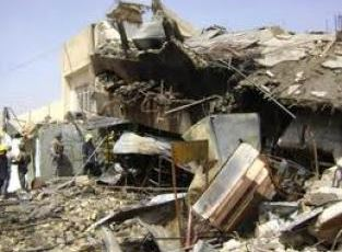 Sept. 23, 2014, Islamic State terrorists demolished 90 houses