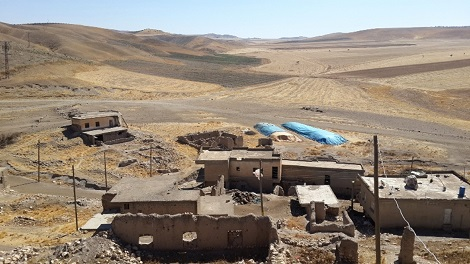 Fikira village. Batman is restoring houses in 20 Ezidi villages destroyed in 1990s.