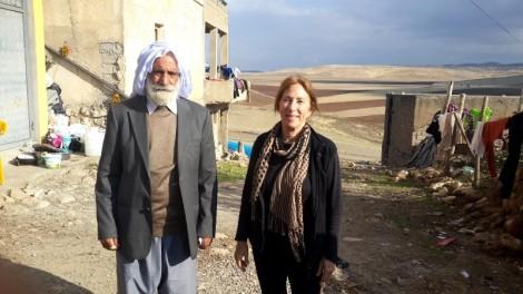 Waleed's great uncle Khalaf Sedo Rasho and writer, Amy L. Beam