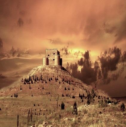 Khanzad's Citadel in Rewanduz