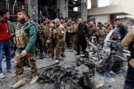 Kurdish peshmarga forces defending Kirkuk