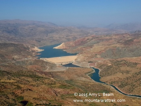 Botan River valley south of Siirt will be flooded by Pervari dam.