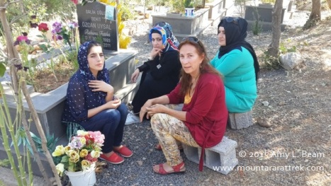 Families visit Roboski massacre cemetery every week.