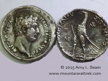 Ancient coins, both real and fake, are in the region.