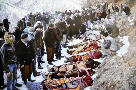 34 Roboski massacre victims, December 28, 2011