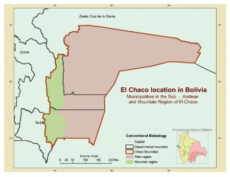 Chaco region, Bolivia