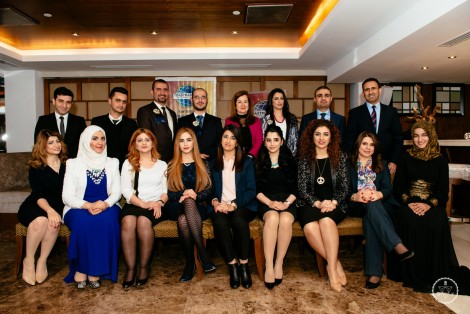 Kurdistan Public Speaking Academy members