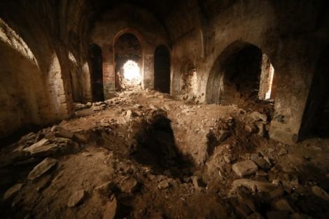 Inside St. Aghperig. Photo taken by John Lubbock.