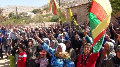 Village in Rojava