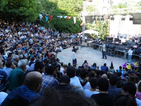 Gezi commemoration event at Beşiktaş park, istanbul