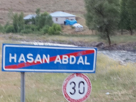 Residents of Hasan Abdal built the memorial site.