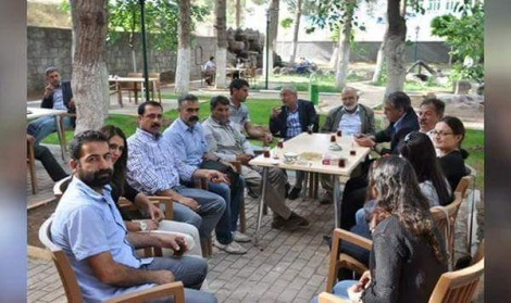 Before the blast, some of the contingent who planned to travel to Kobani to help in the reconstruction
