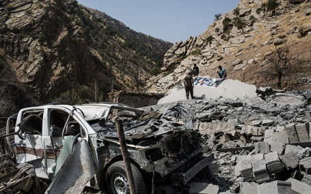 n one of the attacks conducted by Turkey on the Kurds, it bombed a civilian village in southern Kurdistan that caused at least 8 deaths and tens of people injured.