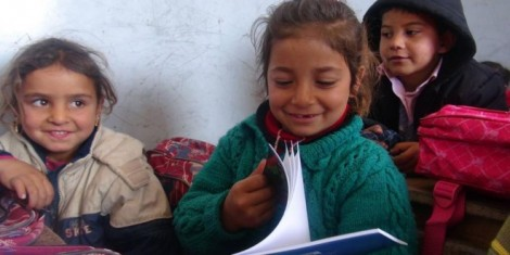Against all the odds, Kobani children have been going back to school