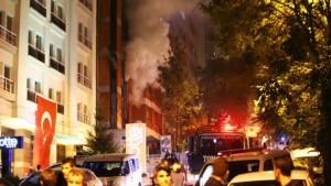 HDP office under attack in Ankara
