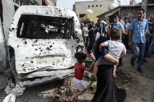 Recent scene from Cizre