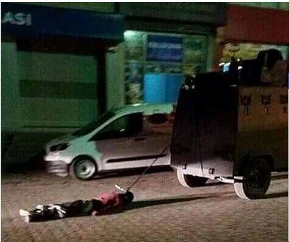 Sirnak man dragged to his death