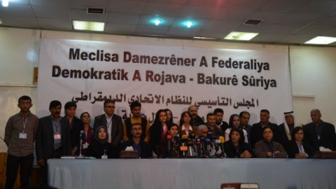 Declaration last week of Kurd-led federation in the west of Kurdistan/north Syria