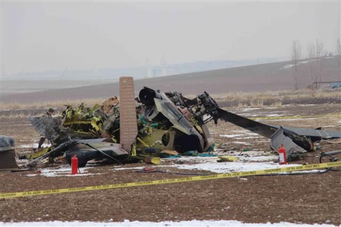 Turkish military helicopter shot down by PKK fighters
