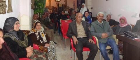 A commune meeting in Amude in Rojava's Cizîrê canton, November 2015 (Corporate Watch)