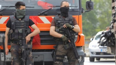 Special police forces - loyal to Erdogan