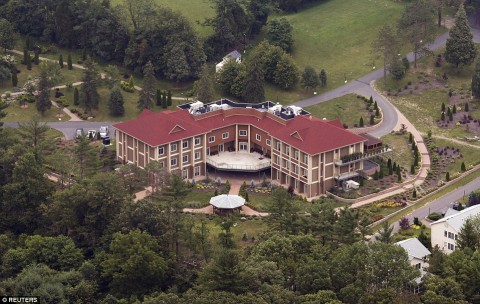 Gulen's 26 acre compound in Pennsylvania