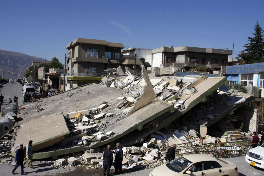 The Earthquake in Kurdistan is Devastating!
