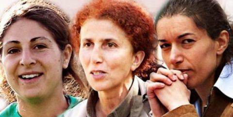 Leyla Saylemez, Sakine Cansiz and Fidan Dogan